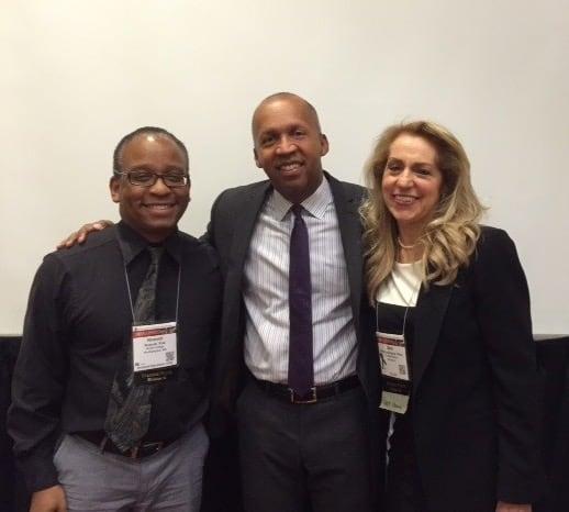 Beth with Nnamdi Pole and Bryan Stevenson