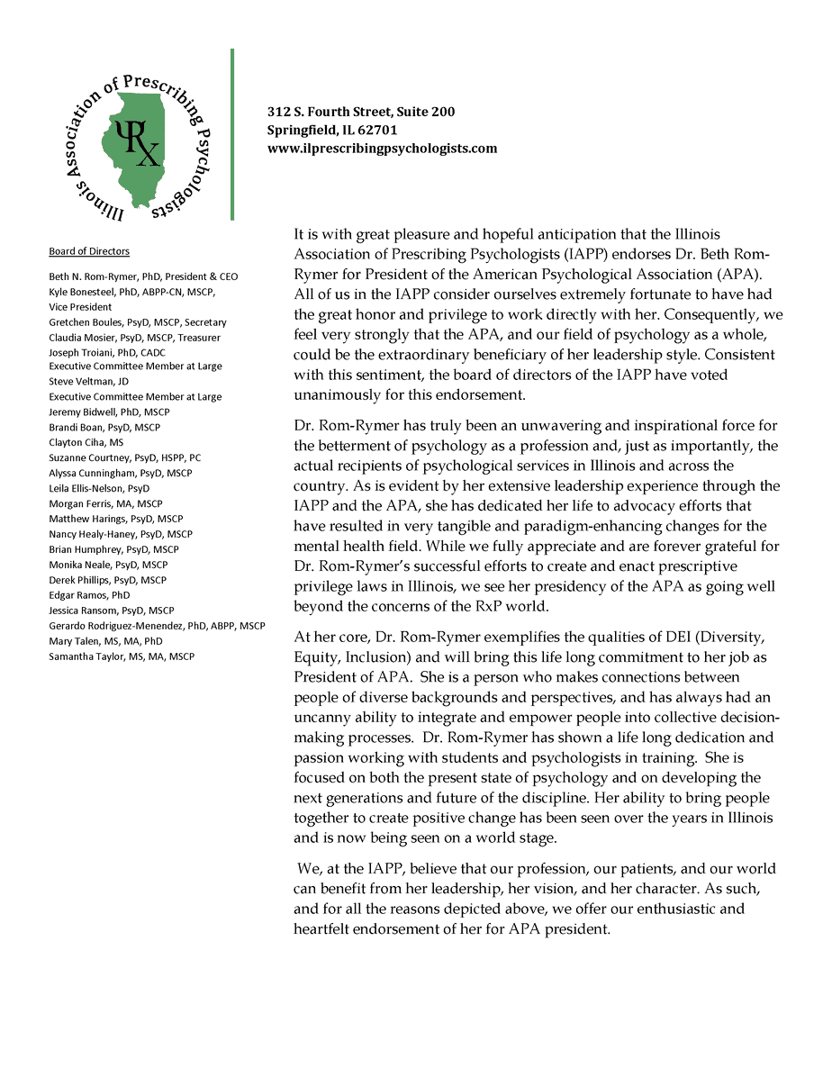 IAPP Rom Rymer Endorsement3 Page 1