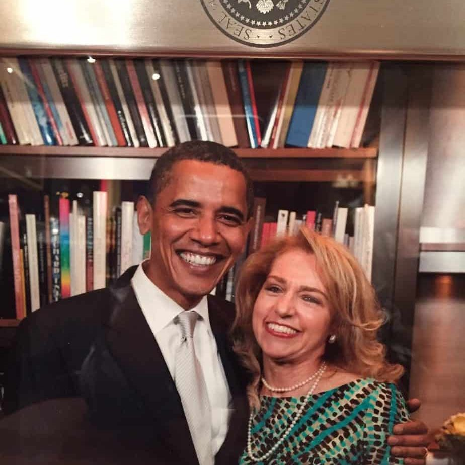 Beth with Obama 2 1